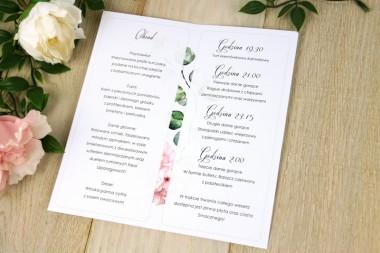 Listki V9 Jasny  Róż - Menu