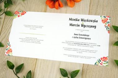 Kwiatowe V16 - 4 wersje