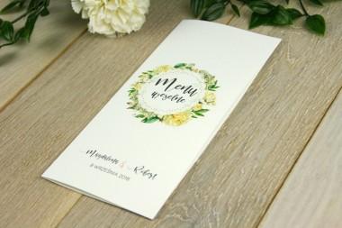 Kwiatowe V6 - Menu