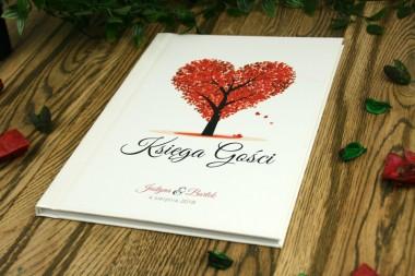 Drzewko Serce - Księga gości