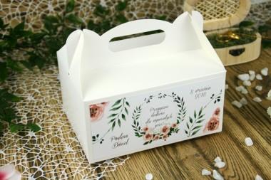 Pudełko na ciasto - Wianek V12