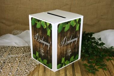 Pudełko na koperty - Rustykalne V2