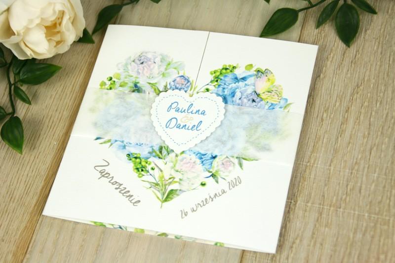 Kwiatowe V9 - Błękit